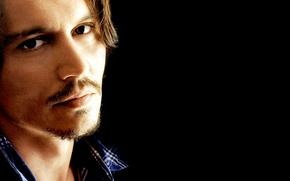 Picture look, Johnny Depp, actor