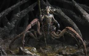 Picture monster, fantasy, art, CG wallpapers, Pavel Terekhov, The Watcher