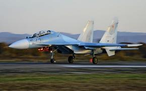 Picture fighter, multipurpose, double, Su-30M2