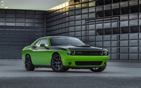 Picture green, Dodge, Challenger, car, muscle, Dodge, muscle car, muscle, T/A