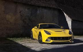 Picture wall, Ferrari, yellow
