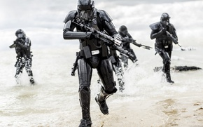 Picture landing, Rogue One, A Star Wars Story, Death Troopers