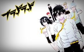 Picture anime, art, Blood Lad, bloody guy