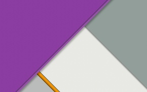 Picture line, grey, lilac, geometry, design, color, material