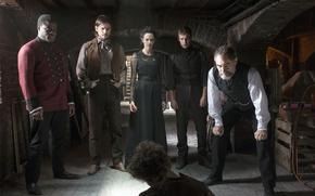 Picture vampire, Josh Hartnett, the series, drama, horror, the basement, Josh Hartnett, Eva Green, Timothy Dalton, …