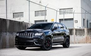 Picture Black, Grand, Jeep, SRT-8, Jeep, Cherokee, Grand Cherokee