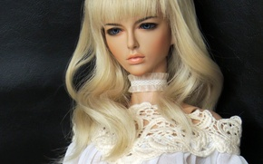 Picture girl, toy, doll