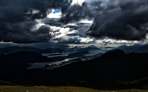Picture the sky, clouds, Norway, Norway, dark clouds, More and Romsdal, Skodje