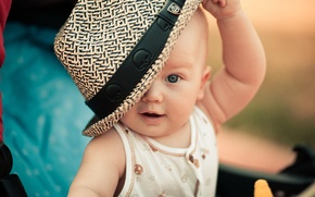 Picture children, child, hat, Kid
