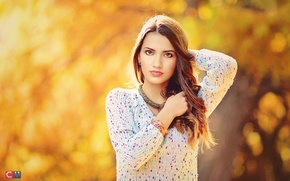 Picture Girl, Light, Color, Yellow, Photo, Woman, Flash, Portrait, People, Contrast, Sessions, Dof
