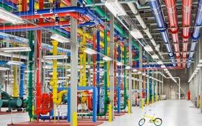 Picture Google, Bike, Hi-Tech, Data Center