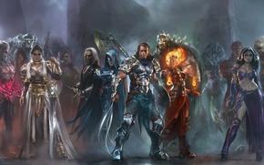 Picture weapons, heroes, warriors, mages, Garruk, Karn, Elspeth, Nissa, Kiora, Sarkhan Vol, Planeswalkers, Ajani, Wizards of …