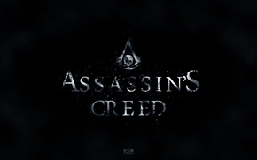 Picture skull, flag, symbol, assassin, Assassin's Creed IV: Black Flag