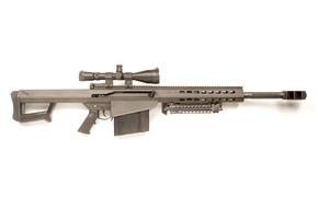 Picture weapons, rifle, weapon, Barrett, sniper rifle, Barrett M82, Barrett M107CQ