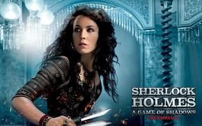 Picture girl, Sherlock Holmes, sherlock holmes, noomi rapace
