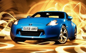 Picture abstraction, Dreamboat Nissan 370z, Auto Nissan