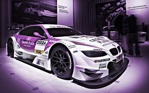 Picture purple, asphalt, sport, BMW, speed, track, ring, car, race, exhibition, spoiler, carbon, the car, beauty, …