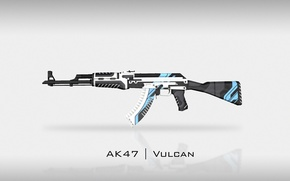 Picture Background, Vulcan, Weapons, Valve, Skin, Global Offensive, Workshop, Weapon, Gun, CS:GO, Steam, Counter Strike, AK-47