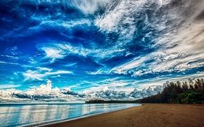 Picture beach, India, Mayabunder
