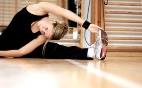 Picture look, fitness, gym, stretching