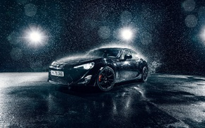 Picture Toyota, Car, Front, Water, Sport, GT86, B;ack