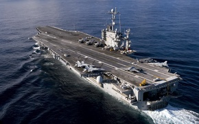 Picture weapons, the carrier, USS Harry S. Truman