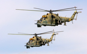 Picture helicopters, The Russian air force, Mi-24P