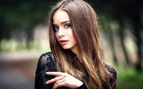 Picture portrait, makeup, Anastasia, Nastya, Denis Petrov