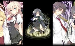 Picture Anime, Anime, Mui Aiba, Takeshi Nanas, Kazumi Ida, The Nanas Takeshi, Mahou Sensou, Magical Warfare, …