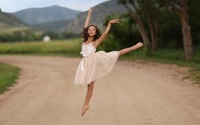 Picture dance, girl, Little Dancer