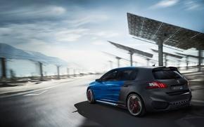 Picture Peugeot, Hybrid, Peugeot 308, 2015, Peugeot 2015, Peugeot 308 R HYbrid