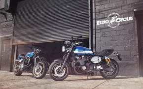 Picture Yamaha, motorcycle, speed, classic, Moto, 2015, xjr1300