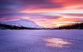 Picture Norway, Ice, Gaustatoppen
