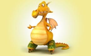 Wallpaper dragon, dragon, funny