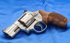 Picture Revolver, Background, Canvas, Smith & Wesson, Weapons, Wallpaper, Model 686P