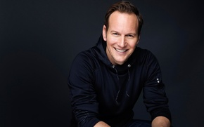 Picture smile, background, photographer, actor, Patrick Wilson, Patrick Wilson, Victoria Will