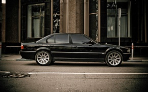 Picture bmw, sedan, Boomer, seven, e38, 7 series, bumer