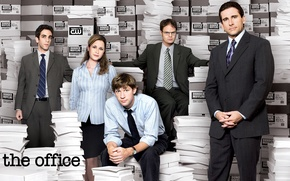 Picture paper, people, The series, the main actors, Office