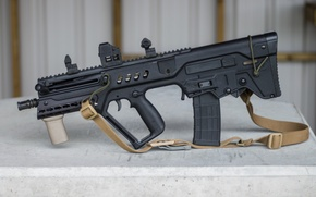 Picture design, machine, strap, rifle, assault, Tavor, TAR-21