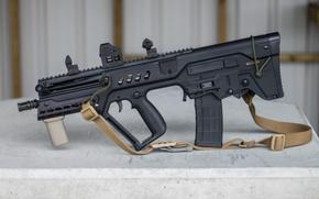 Wallpaper TAR-21, assault, rifle, Tavor, strap, machine, design