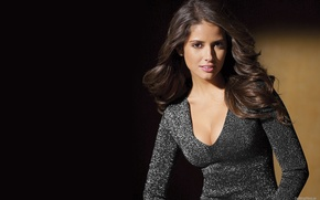 Picture chest, look, girl, hair, sweater, model, Carla Ossa