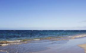 Picture summer, the ocean, Dominican Republic