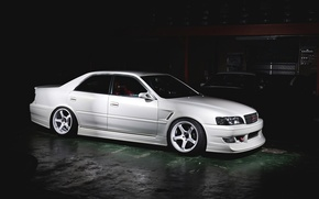 Picture White, Tuning, Chaser, TOYOTA