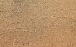 Picture sand, sea, traces