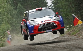 Picture Jump, Citroen, DS3, Rally, Kubica, WRC2