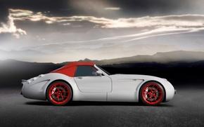 Wallpaper Roadster, Wiesmann, GT MF5