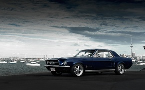 Picture Mustang, Ford, Mustang, muscle car, Ford, muscle car, 1967, Jake, Andrei Diomidov