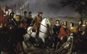 Picture picture, genre, The great Captain Gonzalo de Cordoba after the battle of Cer, Federico Madrazo