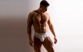 Wallpaper body, Jock, man, big dick