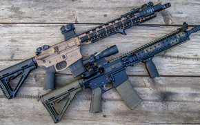 Picture weapons, Board, rifle, assault